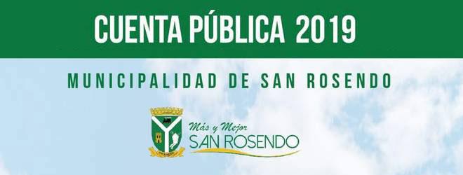 San Rosendo • Cuenta Pública 2019