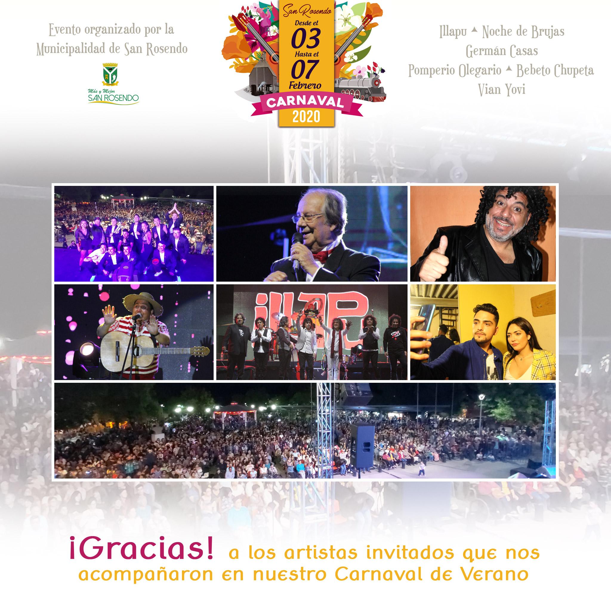 San Rosendo • Carnaval Verano San Rosendo 2020