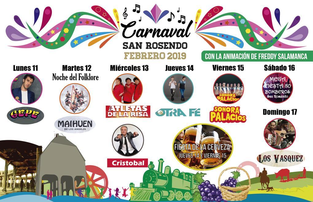 Carnaval San Rosendo 2019